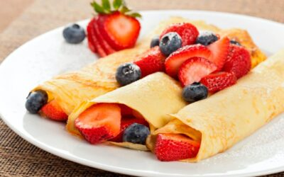 'When the first pancake-flip flops, try again': business tips fresh from the mixing jug!